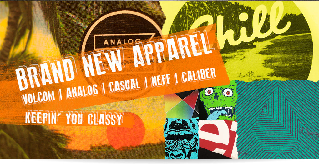 Brand New Longboard Apparel - Keepin You Classy